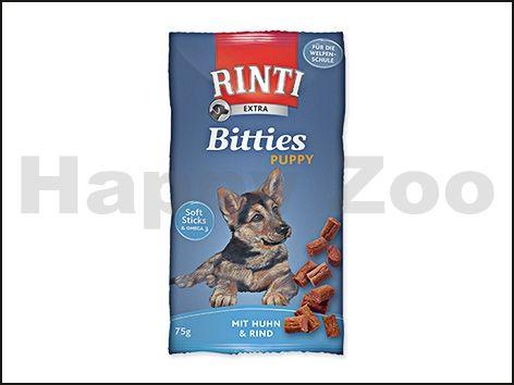RINTI Extra Bitties Puppy - kuře a hovězí 75 g