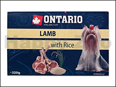 ONTARIO Dog Lamb with Rice 320 g