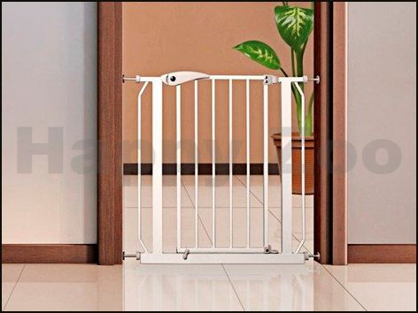 TRIXIE Kovová dveřní zábrana pro psy 75-85x76 cm