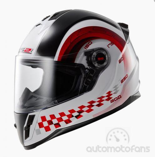 LS2 FF392 CHRONO JUNIOR Gloss helma