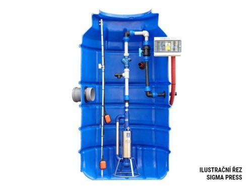 SIGMA PRESS kompletní (litinové EFRU,nádoba, technologie)