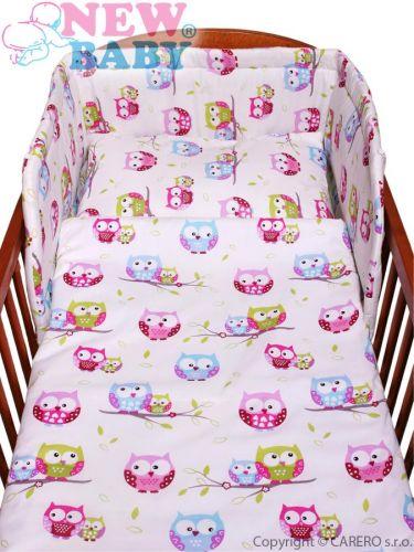 NEW BABY Sovičky bavlněné povlečení