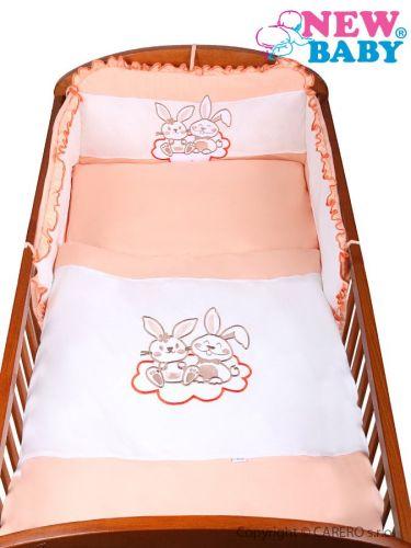 NEW BABY Bunnies oranžové bavlněné povlečení