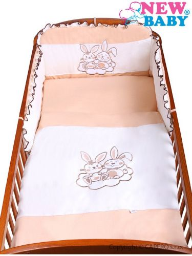 New Baby Bunnies hnědé bavlněné povlečení cena od 511 Kč