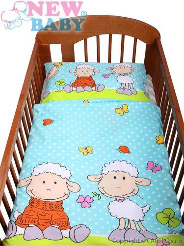 NEW BABY Ovečky bavlněné povlečení