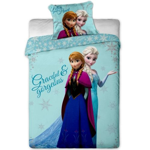 Jerry Fabrics Ledové Království Frozen sisters bavlněné povlečení