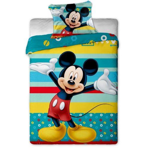 Jerry Fabrics Mickey tyrkysové bavlněné povlečení