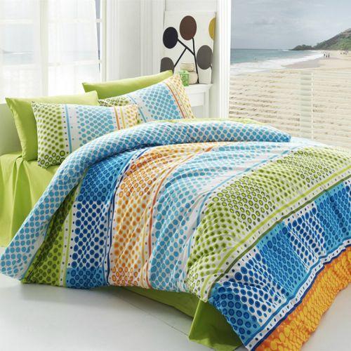 BedTex Tip Trade Fashion Green bavlněné povlečení
