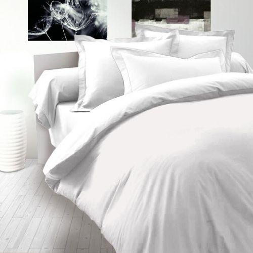 Kvalitex Luxury Collection bílé saténové povlečení