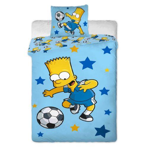 Jerry Fabrics Simpsons Bart modré bavlněné povlečení