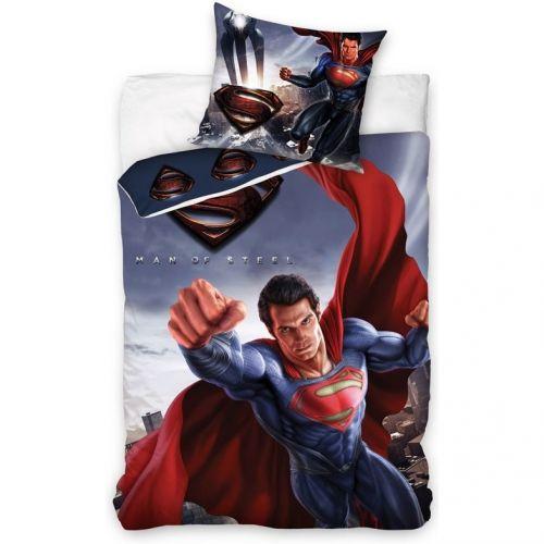 BedTex Carbotex Superman bavlněné povlečení