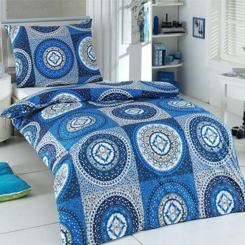 Night in Colours Gipsy modré bavlněné povlečení
