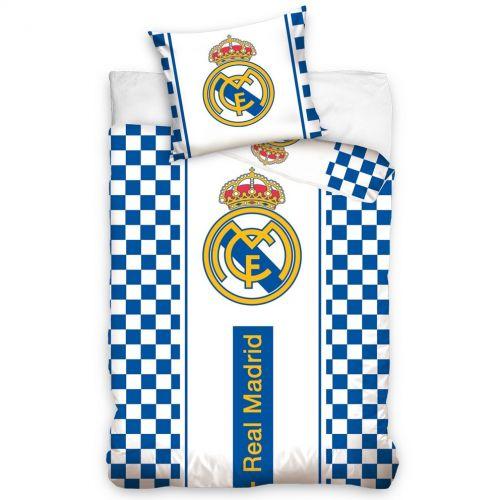 BedTex Real Madrid Check bavlněné povlečení