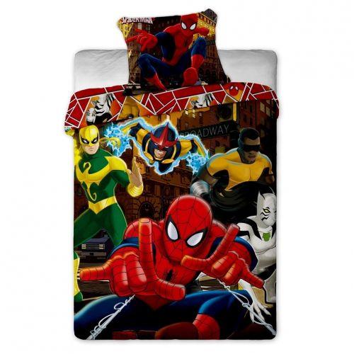 Jerry Fabrics Spiderman Hero bavlněné povlečení