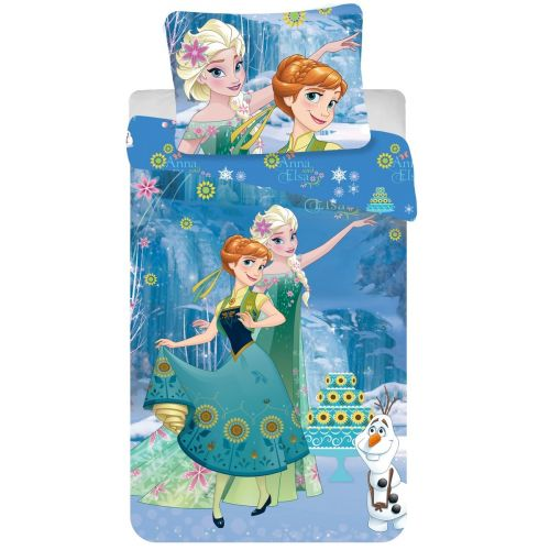 Jerry Fabrics Ledové království Frozen Cake 2016 bavlněné povlečení