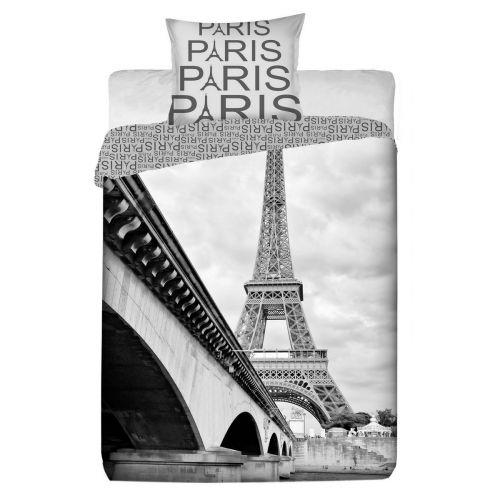 Jerry Fabrics Paris Eifelovka bavlněné povlečení