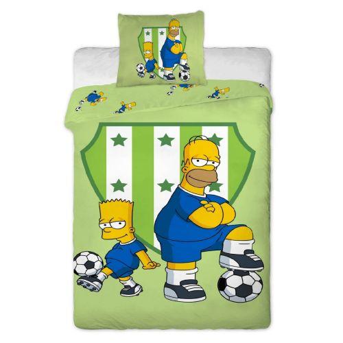 Jerry Fabrics Simpsons Bart a Homer bavlněné povlečení