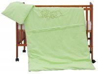 Scarlett Bimbo zelené bavlněné povlečení