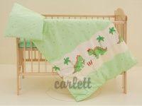 Scarlett Dráček zelené bavlněné povlečení