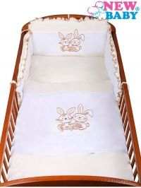 New Baby Bunnies béžové bavlněné povlečení cena od 831 Kč