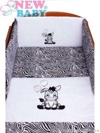New Baby Zebra bílo-černé bavlněné povlečení