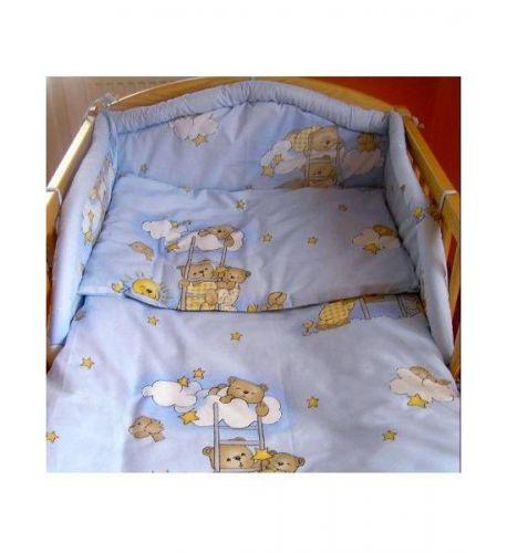NEW BABY Modré bavlněné povlečení