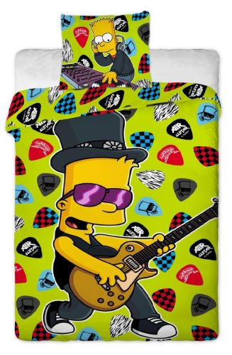 Jerry Fabrics Simpsons Bart guitar 2015 bavlněné povlečení