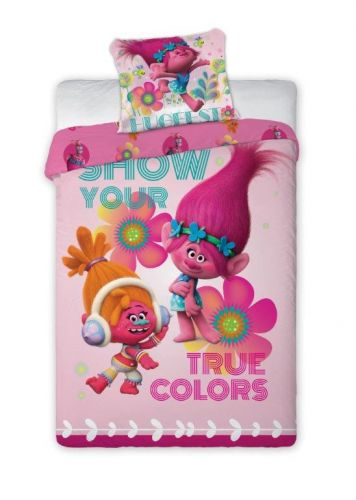 Faro Trollové 020 růžové bavlněné povlečení cena od 385 Kč