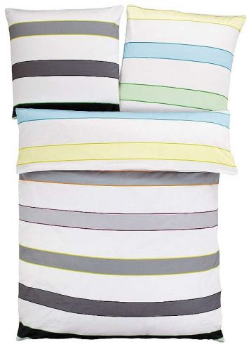 S.Oliver barevné pruhy bavlněné povlečení