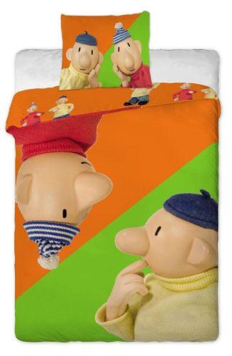 Jerry Fabrics Pat a Mat orange bavlněné povlečení