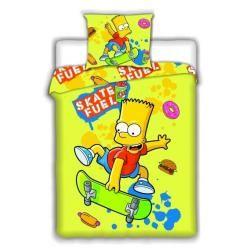Jerry Fabrics Bart Simpson skate bavlněné povlečení