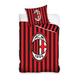 Carbotex AC Milán pruhy bavlněné povlečení