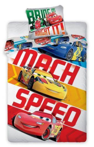Faro Cars 001 barevné bavlněné povlečení
