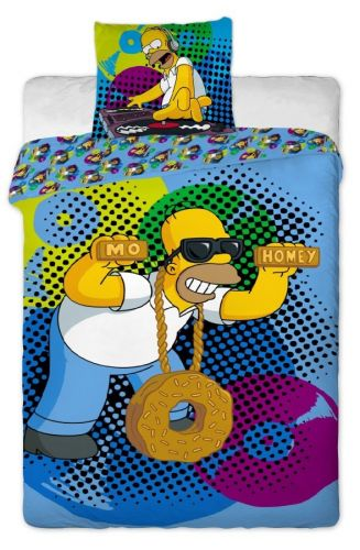 Jerry Fabrics Simpsons Homer DJ 2015 bavlněné povlečení