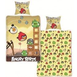 HALANTEX Angry Birds poušť bavlněné povlečení
