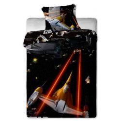 Jerry fabrics Star Wars spaceships bavlněné povlečení