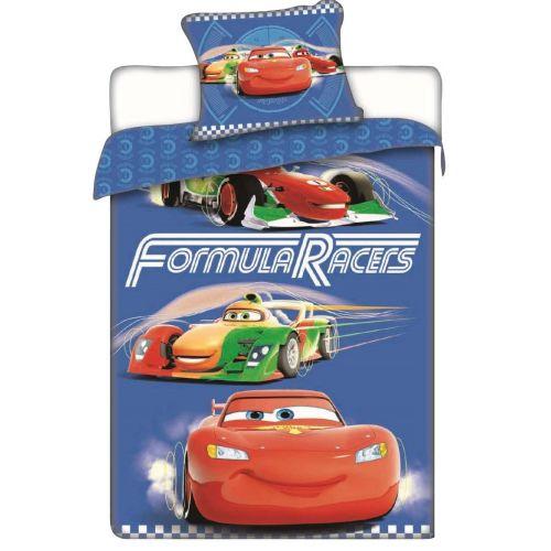 Jerry Fabrics Cars Races bavlněné povlečení