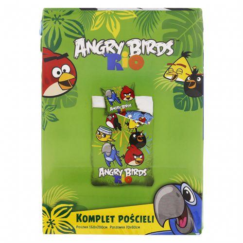 Carbotex Angry Birds Rio zelené povlečení