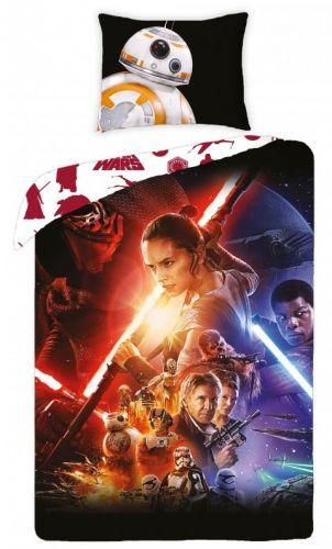 Halantex Star Wars barevné bavlněné povlečení