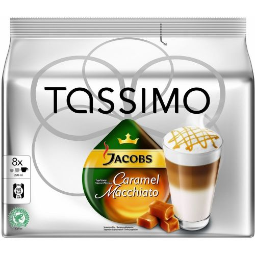 TASSIMO LATTE M. CARAMEL JACOBS KRÖN. 268 g cena od 129 Kč