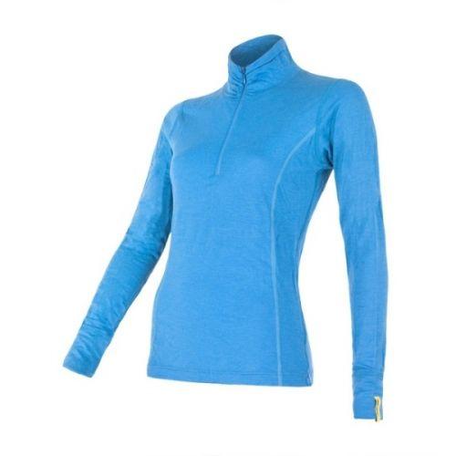 SENSOR Merino Wool Active zip triko