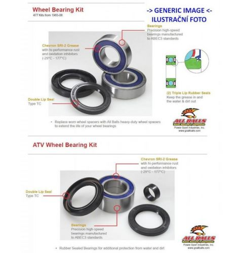 All Balls Racing Tapered bearing TB99-3540