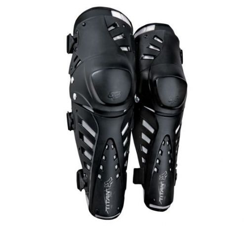 FOX Racing Titan Pro Knee/Shin Guard Black OS chránič kolen