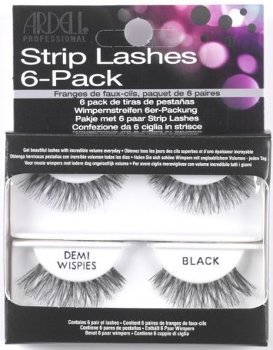 Ardell Nalepovací řasy Lashes Demi Wispies 6 pack