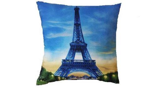 APEX Paříž Eifelovka 3D polštářek