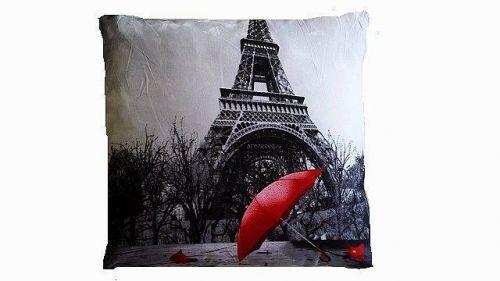 APEX Paříž s deštníkem 3D polštářek