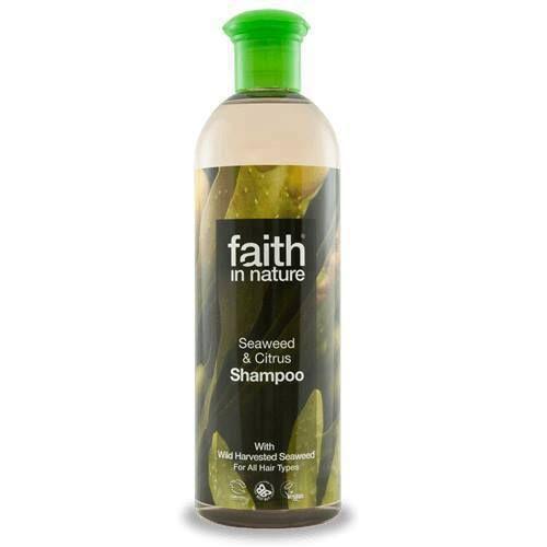 Faith in Nature Šampon Mořská řasa a Citrus 400 ml