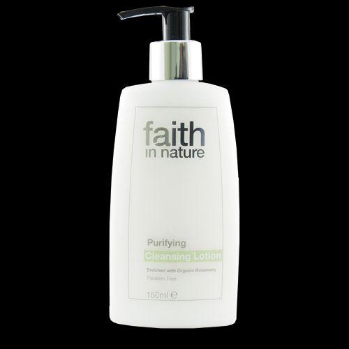 Faith in Nature přírodní čistící pleťové mléko HA 150 ml
