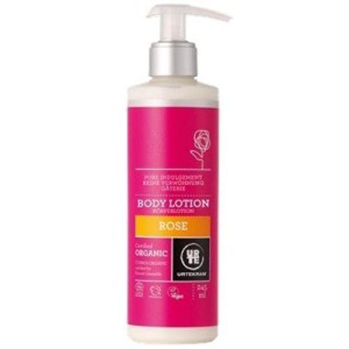 Urtekram Tělové mléko BIO růžové 245 ml