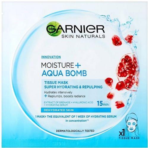 Garnier Superhydratační textilní maska MOISTURE+ AQUA BOMB